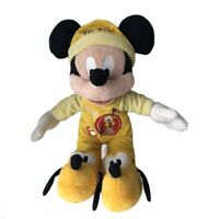 Disney Mickey Mouse Dressed As Pluto Plush Soft Cuddly Toy Rare