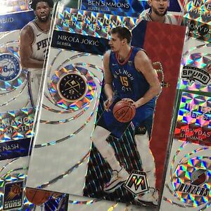 2019-20 Mosaic KRISTAPS PORZINGIS International Men Of Mastery Mosaic Prizm #14