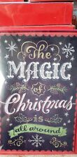CHRISTMAS CARDS BOXED NEW AMERICAN GREETINGS GLITTERED