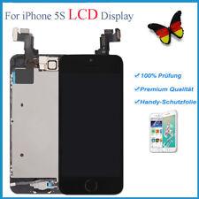 Display für iPhone 5S mit RETINA LCD Glas Vormontiert Komplett Front Schwarz