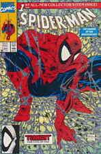 Spider-Man #1 August 1990 Marvel Spiderman Comic Book (NM)