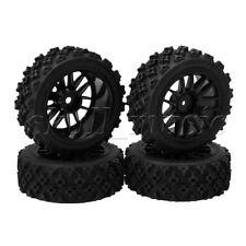 4pcs 70x26mm Rubber Tyre + 14 Spoke Wheel Rim fit RC1:10 On Road Car Rally Car