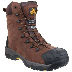 Mens Amblers FS995 Safety Side Zip Composite Toe/Midsole S3 Boots Sizes 6 to 13