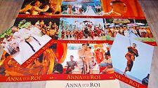 10 Photos Cinéma 21x28cm (1999) ANNA ET LE ROI Jodie Foster, Chow Yun-Fat TBE