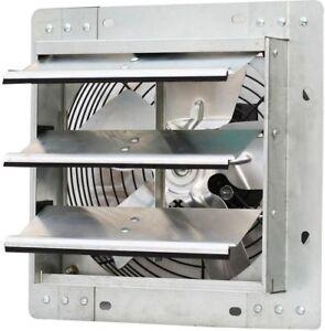 Commercial Restaurant Greenhouse Shutter Exhaust Fan Heat Moisture Odor Remover