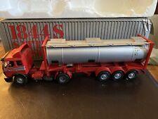 Mercedes Benz 1844S Satrelzug-Machine 1:43 Tractor Trailer Tanker Die Cast