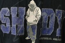Shady LTD Eminem Rapper T-Shirt L Large 100% Cotton Crew Neck Tee Hoodie Guy