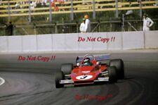 Jacky Ickx Ferrari 312 B3 Swedish Grand Prix 1973 Photograph 1