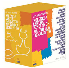 Kolekcja lektur szkolnych dla licealistow (DVD box) 17 filmow POLSKI POLISH