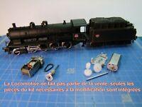 KIT ReMotorisation sans courroie locomotive vapeur 140-C-180/140-C-231 JOUEF HO