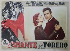 """""""LA DAME & LE TOREADOR (BULLFIGHTER & THE LADY)""""Affiche ent. Joy PAGE,G.ROLAND"""