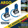 H3 100W 8500K Xenon HID Super White Effect 453 Head light Fog Light Bulbs 12v