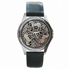 Celtic Horse Knot Epona Medieval Leather Watch New!