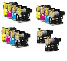 14PK Ink Cartridge Set + chip for Brother LC201 LC203XL MFC J680DW J880DW J885DW