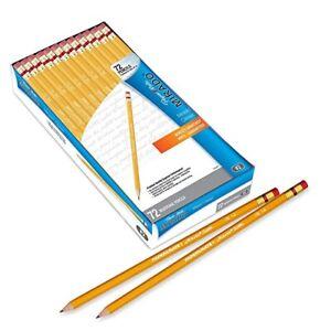 Papermate Mirado Pencil Wood, Yellow, 72/Pk 58886