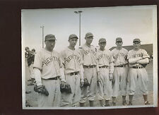 Original Culver PIctures 8 X 10 Photo Carl Hubbell + 5 Other New York Giants