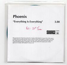 (IW188) Phoenix, Everything Is Everything - DJ CD