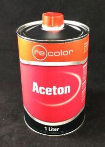 10,79-5,83€/L  Aceton 1 Liter Reiniger 1l Entfetter Lösemittel Lackentferner