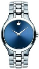 Movado 0606369 Collection Men's Wristwatch - Silver