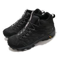 Merrell Moab FST 2 Mid GTX Gore-Tex Black Men Outdoors Hiking Trail Shoe J599535