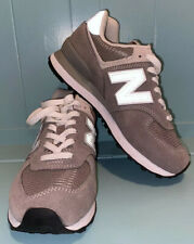 New Balance Womens WL574EG Grey Fashion Sneaker Size 6