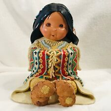 1997 Enesco Friends Of The Feather Storyteller Display Statue Figure 326658