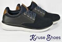 Skechers Streetwear Memory Foam Men's Slip On Shoes Black/Navy Size 9.5