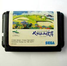 Rare : NEW 3D GOLF SIMULATION Pebble beach (JAP) Megadrive / Game for Mega Drive