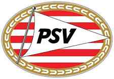 "Psv Eindhoven Fc Netherlands Football Soccer Car Bumper Sticker Decal 5""X4"""