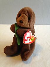 SEAWEED PANDA Beanie Babies Baby Style 4080 MINT Tag TY RARE RETIRED
