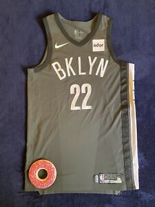 Caris LeVert Brooklyn Nets Game Worn NBA Jersey 2018 Steiner COA 16 Pts vs 76ers