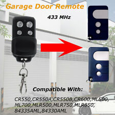 Gate Garage Door Remote Keyring 433MHz For Chamberlain/Motorlift 84335AML CR550