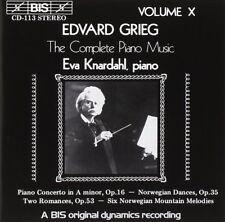 Grieg: Complete Piano Music Volume X / Eva Knardahl - CD
