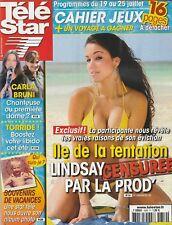 Télé Star N°1659 - 14/07/2008 - CECILE DE MENIBUS - KOH-LANTA - LOUIS DE FUNES -
