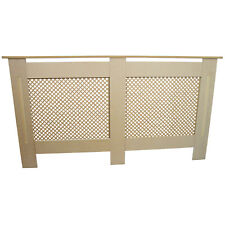 Radiator Covers MDF Wood Trellised Grill Modern Heating Home Cabinet Shelves