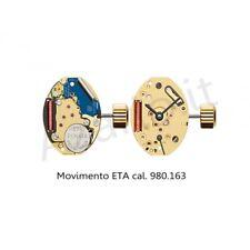 Movimento al quarzo ETA 980.163 movement quartz for watch orologi Swiss