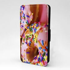 For Apple iPod Touch Flip Case Cover Donuts - A751
