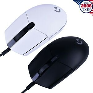 New Logitech G102 LIGHTSYNC Wired Gaming Mouse 6 Programmable Buttons 8000DPI
