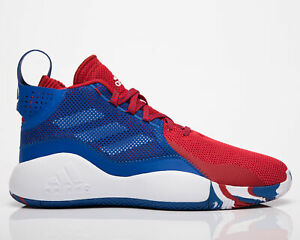 adidas D Rose 773 2020 Men's Blue Red White Athletic Basketball Sneakers Shoes
