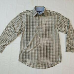 Tommy Hilfiger, Regular Fit, Men's Long Sleeve Formal, Dress Shirt, Size, M