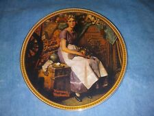 "Knowles "" Dreams in the Attic"" Norman Rockwell Collectible Plate"