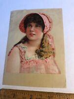 Vintage Victorian trade advertising card E.P. Carpenter Co Brattleboro VT