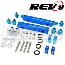 Rev9 (FR-015) Aluminum Top Feed Fuel Injector Rail Kit For WRX EJ20 EJ25 Motor