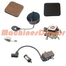 Brush Cutter String Trimmer Parts Ignition Coil Carburetor Kit 4 Stihl FS75 FS85