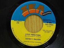 David T. Walker 45 Love Vibrations bw Doo Doo - ZEA M-