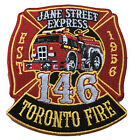 """Toronto Fire Station 146 """"Jane Street Express"""" Patch."""