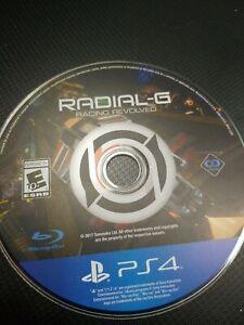 Radial G Racing Evolved Playstation 4 PS4 PSVR VR Game No Cover Art