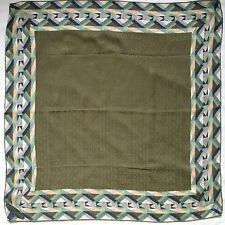 -AUTHENTIQUE Foulard   MISSONI  soie   TBEG  vintage Scarf