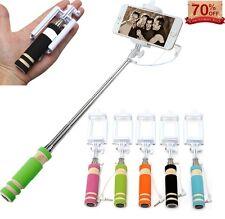 Mini Monopod Selfie Stick Telescópica Bluetooth remoto con cable soporte para teléfono móvil