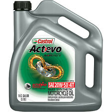 Castrol Actevo X Tra 4T Synthetic Blend Motorcycle Oil - 20W50 - 1 Gallon